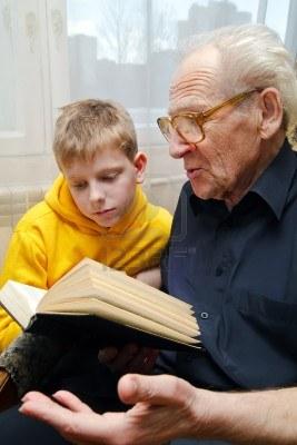 Grampa and Grandson