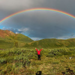 Beautiful Double Rainbows in HDR