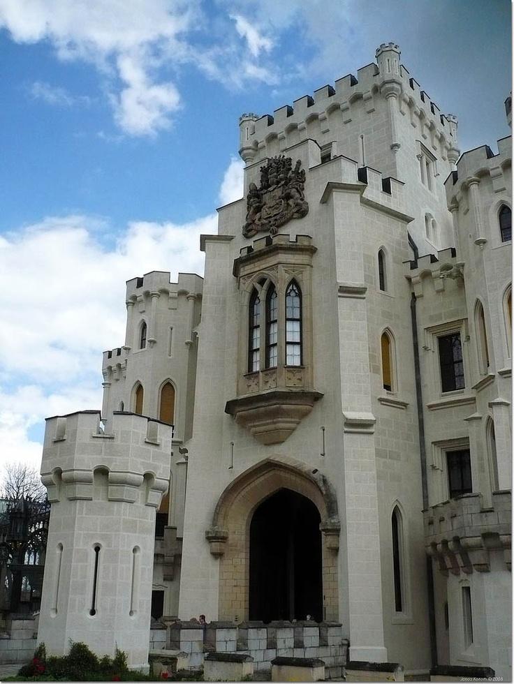 Hluboká Castle, Hluboká nad Vltavou, Czech Republic