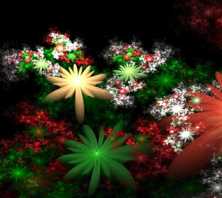 Exotic Christmas Arrangement