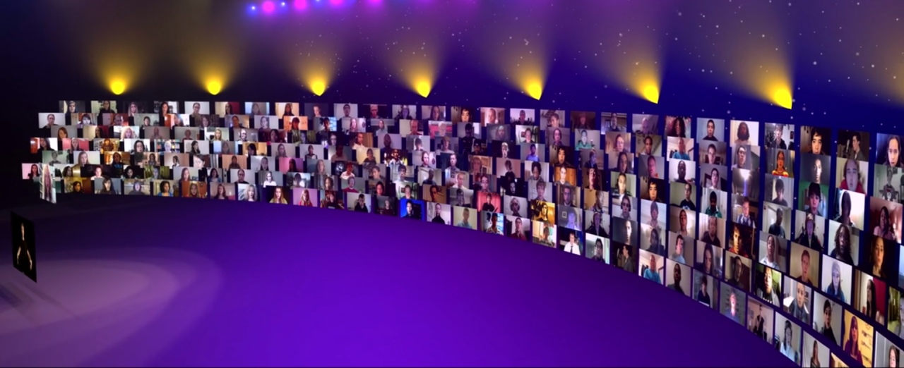 TED Talk Virtual Choir Screen Shot
