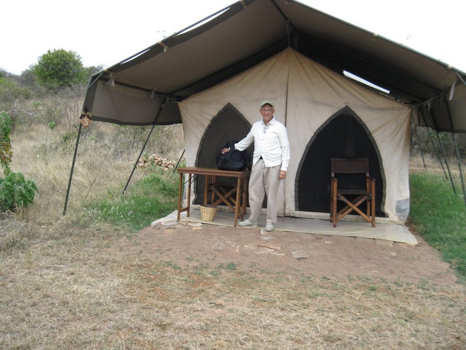Our First Nyumba (Tent)