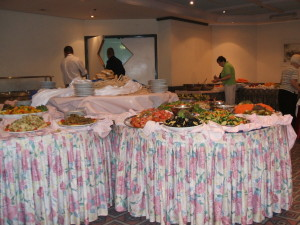 Hotel Buffet Kosher and Delicious