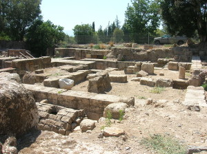 Caesarea Philippi Ruins