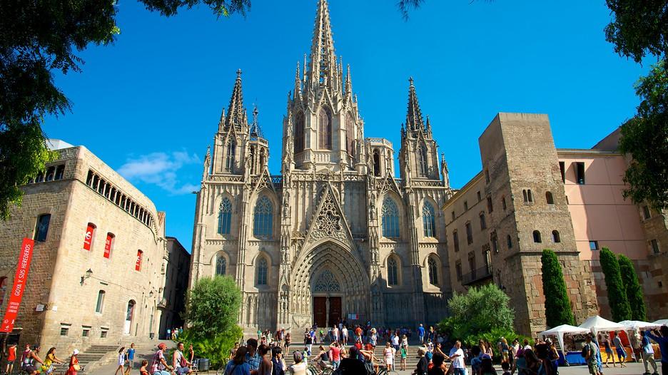 Santa Eulalia Cathedral Barcelona, Spain