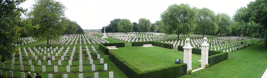 Beny-sur-Mer_Cemetery Normandy, France