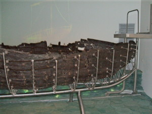 Preserved Bible Times Fishing Boat