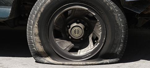 Flat tire