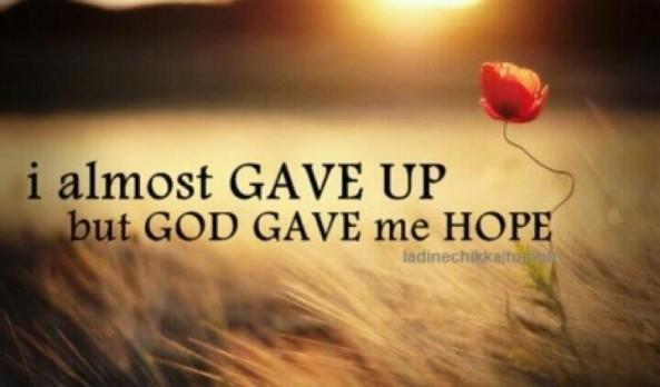 HOPE by testimoniesof hope.com