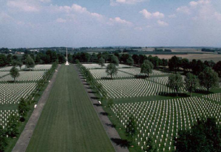 Netherlands American Cemetery, Margraten