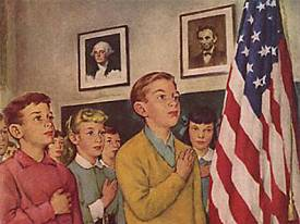 Norman-Rockwell-Pledge-of-Allegiance