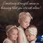 """Sometimes strength comes from knowing you are not alone."""