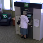 Christmas in July at TD Bank in Canada