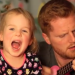 Tonight You Belong to Me (Cover) – Me and My 4 Year Old.