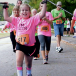 Told She'd Never Walk, Now She Runs to Raise Money for Charity