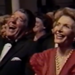 Michael Davis at Ford's Theater (Ronald Reagan & Tip O'Neil laughing hysterically)