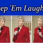 """Jeanne Robertson – """"Don't Get Frisky in a Tent!"""""""