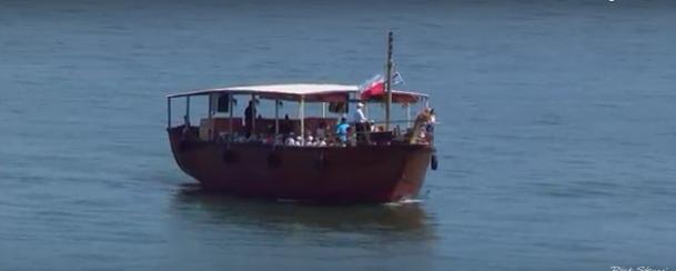 Replica Boat on the Sea of Galilee