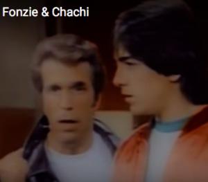 Fonzi and Chachi