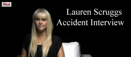 Lauren Scruggs Accident Interview