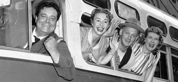 Ralph Kramden on His Bus