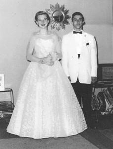 Dick & Lynn Senior Prom 1962