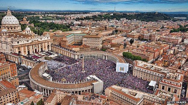 Vatican Aerial