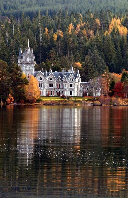Castle Ardeverkie, Ardverkie, Scotland