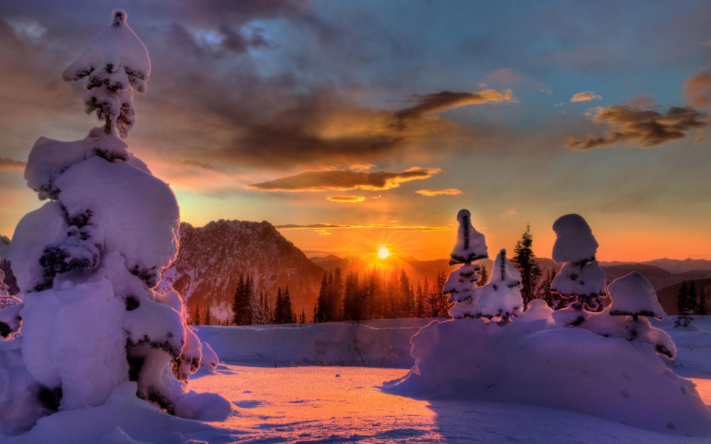Gorgeous Winter Sunset