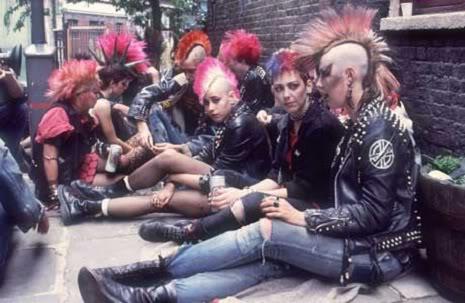 Punk Cult Fashion 1980s