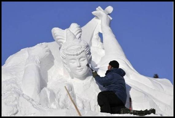Breckenridge Snow Sculpture Festival 11