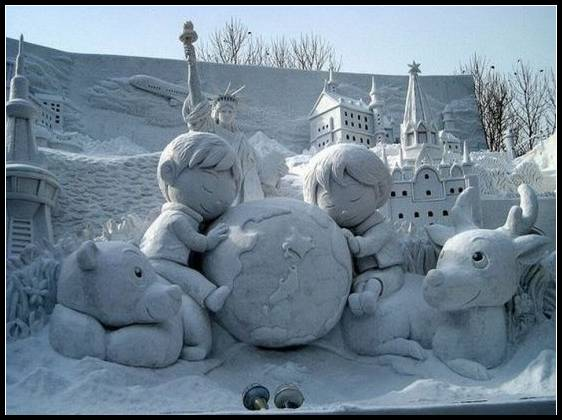 Breckenridge Snow Sculpture Festival 14