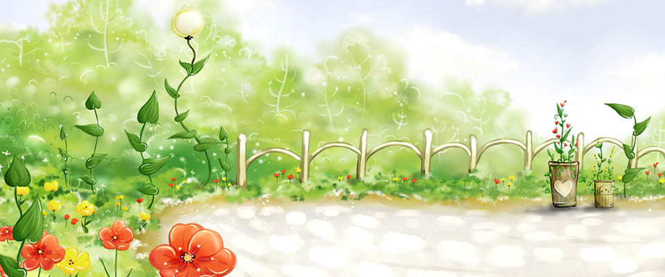 Farm Garden Drawing