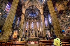 Santa Eulalia Cathedral Interior by Worldsiteguides