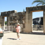 Capharnaum Called Jesus Town for Tourists/Pilgrims
