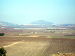Jezreel Valley and Mount Tabor by Joe Freeman