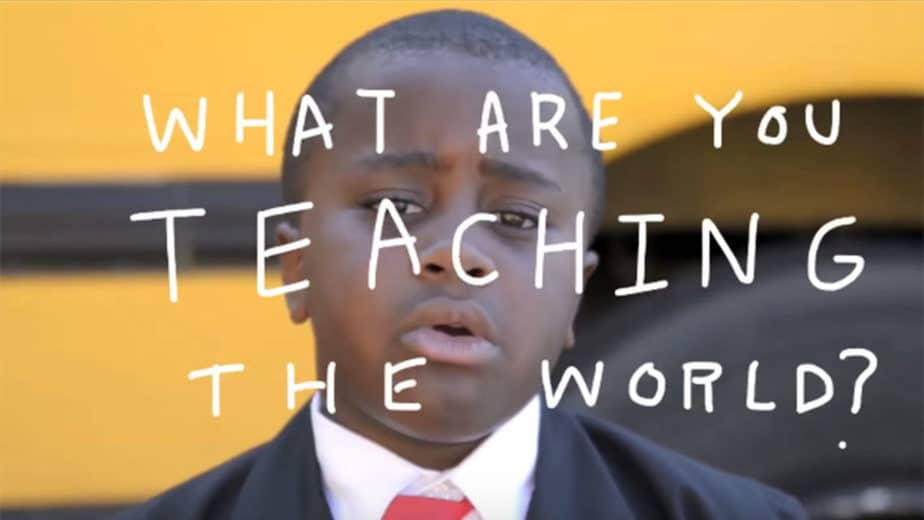 Kid President - What Are You Teaching the World by ww2.kqed.org