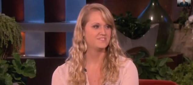 Sarah Hoidahl on Ellen Show