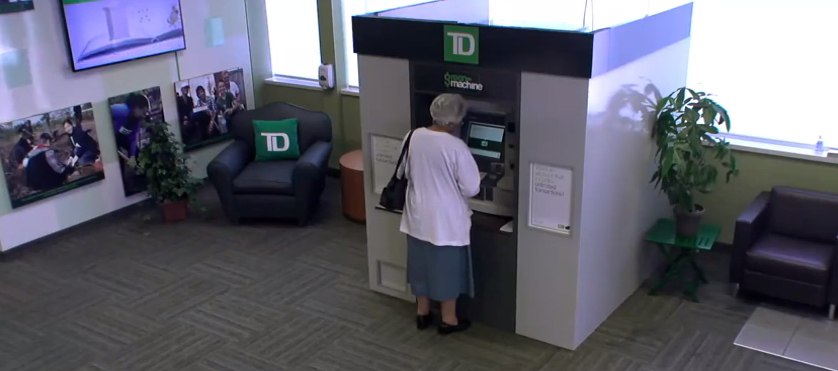 TD Bank Automatic Thanking Machine