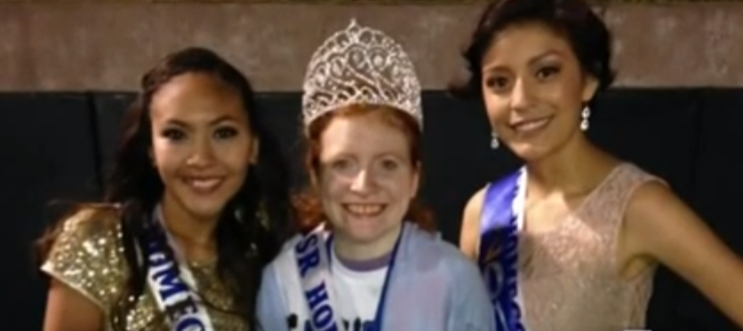 Texas Homecoming Queen and Friends