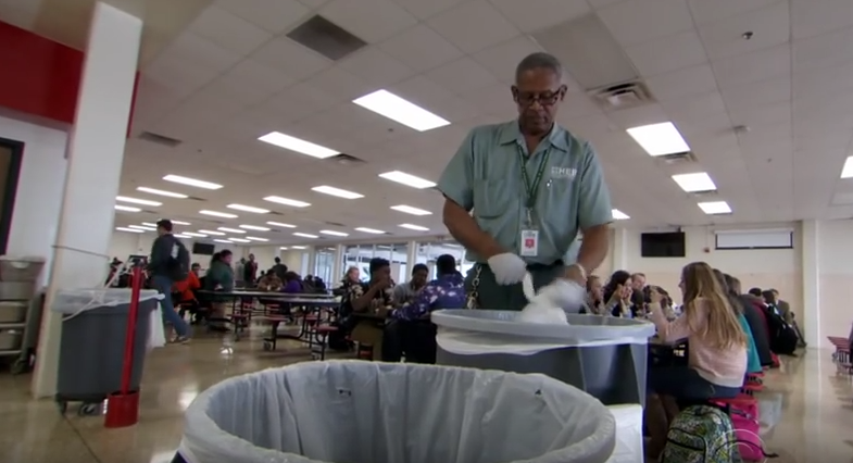 Charles Clark - High School Custodian and Much More